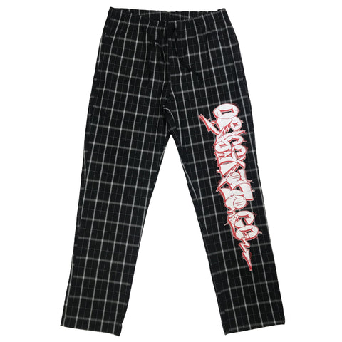 PANTS ORIG x SUPERAFRO PLAID BLACK