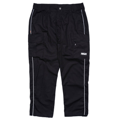 HIGH RIPSTOP CARGO PANTS BLACK