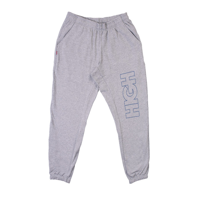 HIGH SWEATPANTS OUTLINE LOGO BLEND GREY