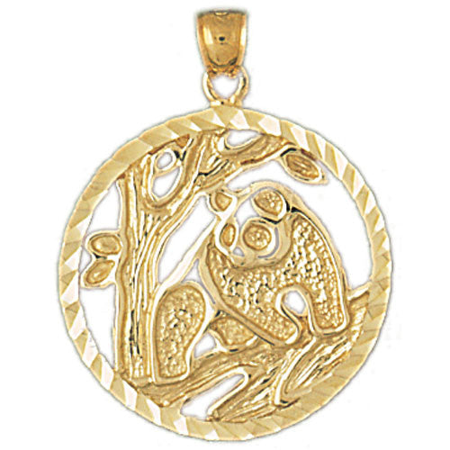 14K GOLD ANIMAL CHARM - BEAR #2540
