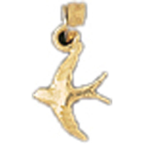 14K GOLD ANIMAL CHARM - BIRD #2924