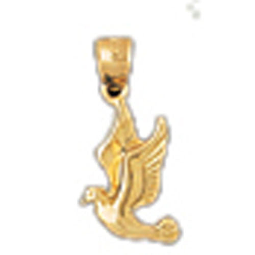 14K GOLD ANIMAL CHARM - BIRD #2936
