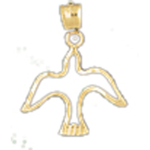 14K GOLD ANIMAL CHARM - BIRD #2939