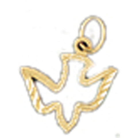 14K GOLD ANIMAL CHARM - BIRD #2940