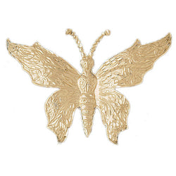 14K GOLD ANIMAL CHARM - BUTTERFLY #3084