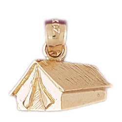 14K GOLD CHARM - TENT #6975