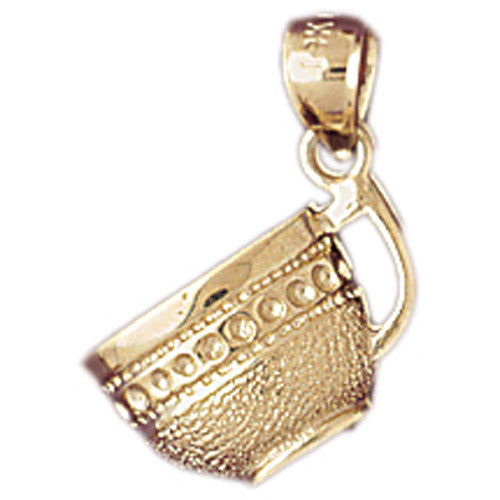 14K GOLD COOKING CHARM - CUP #6958