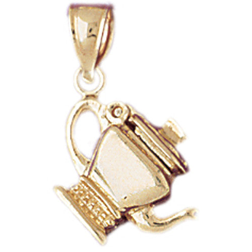 14K GOLD COOKING CHARM - TEAPOT #6953