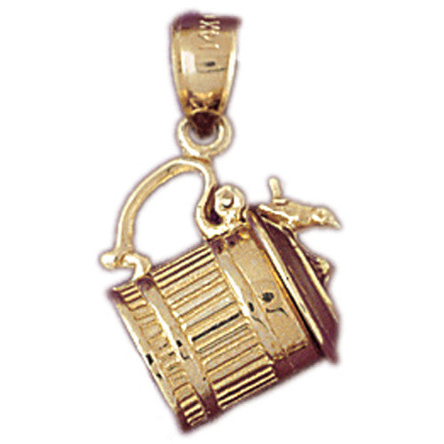 14K GOLD COOKING CHARM #6954