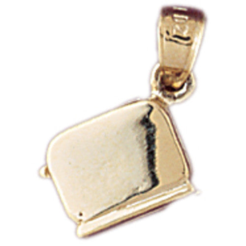 14K GOLD COOKING CHARM #6963
