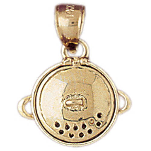 14K GOLD COOKING CHARM #6966
