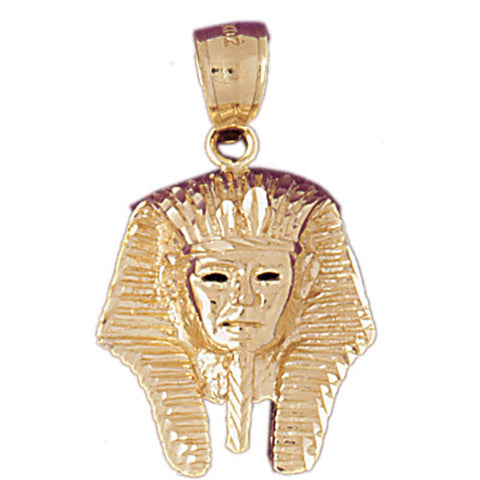 14K GOLD EGYPTIAN CHARM - KING TUT #4794
