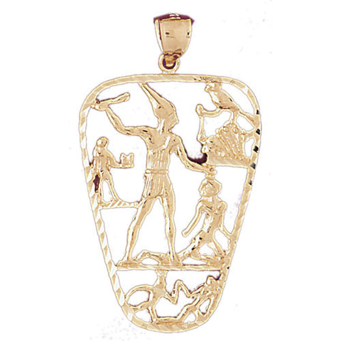 14K GOLD EGYPTIAN CHARM #4815