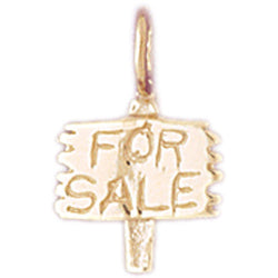 14K GOLD HOUSE CHARM #6986