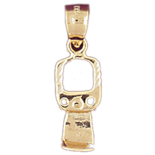 14K GOLD KITCHEN UTENSIL CHARM - OPENER #6932