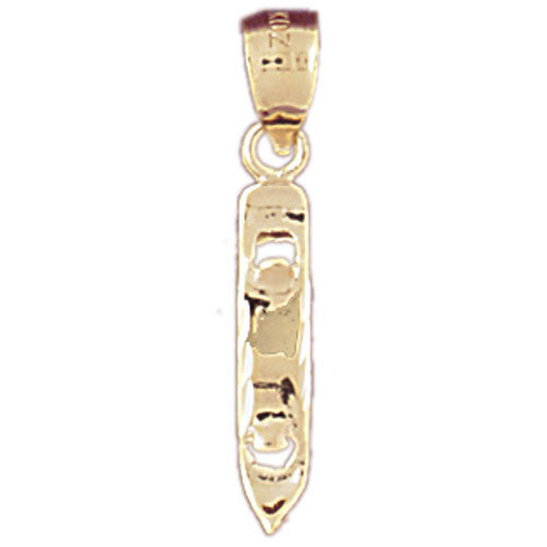 14K GOLD KITCHEN UTENSIL CHARM - OPENER #6933