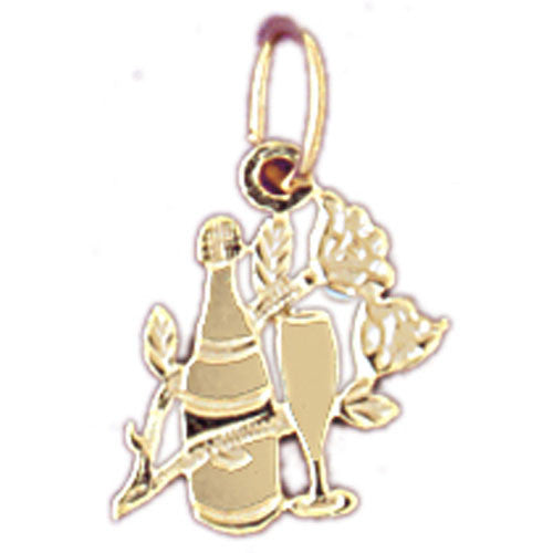 14K GOLD KITCHEN UTENSILS CHARM #6926