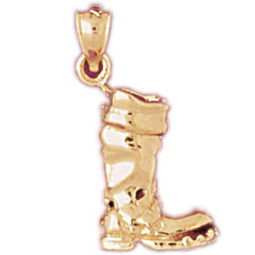 14K GOLD MISCELLANEOUS CHARM - BOOT #6128