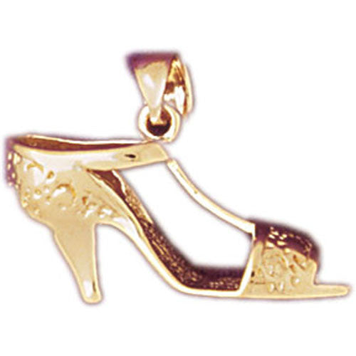 14K GOLD MISCELLANEOUS CHARM - HIGH HEEL #6118
