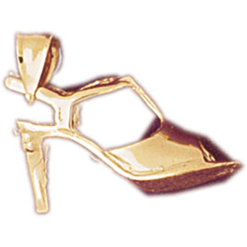 14K GOLD MISCELLANEOUS CHARM - HIGH HEEL #6119