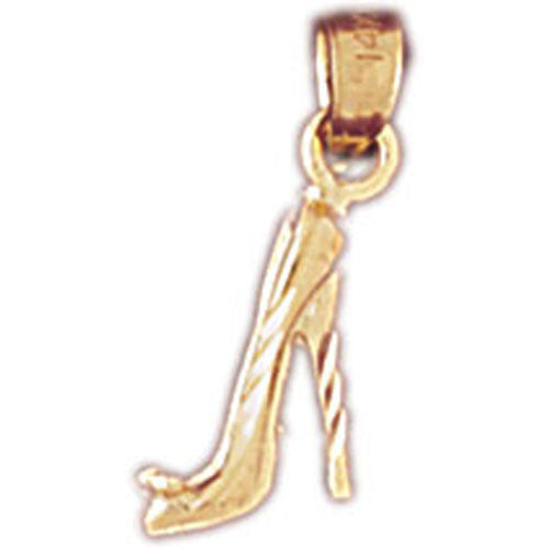 14K GOLD MISCELLANEOUS CHARM - HIGH HEEL #6121