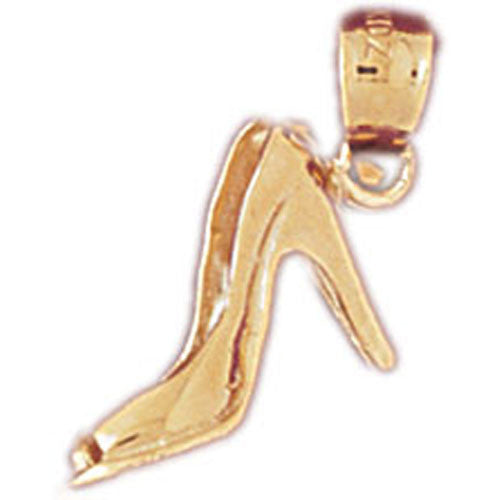 14K GOLD MISCELLANEOUS CHARM - HIGH HEEL #6122