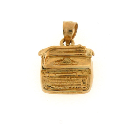 14K GOLD OFFICE CHARM #6445