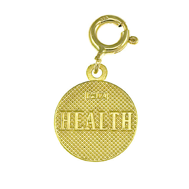 14K GOLD SEVEN WISHES CHARM - HEALTH #6485