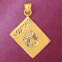 14K GOLD PASSPORT CHARM/PENDANT # 4898