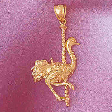 14K GOLD MISCELLANEOUS CHARM - CAROUSEL #6008