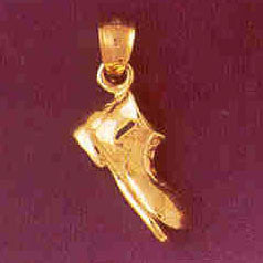 14K GOLD MISCELLANEOUS CHARM - BOOT #6125