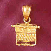 14K GOLD OFFICE CHARM #6439