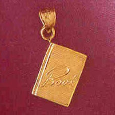 14K GOLD OFFICE CHARM - BOOK #6447