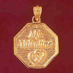 14K GOLD TALKING CHARM - MY VALENTINE #7151