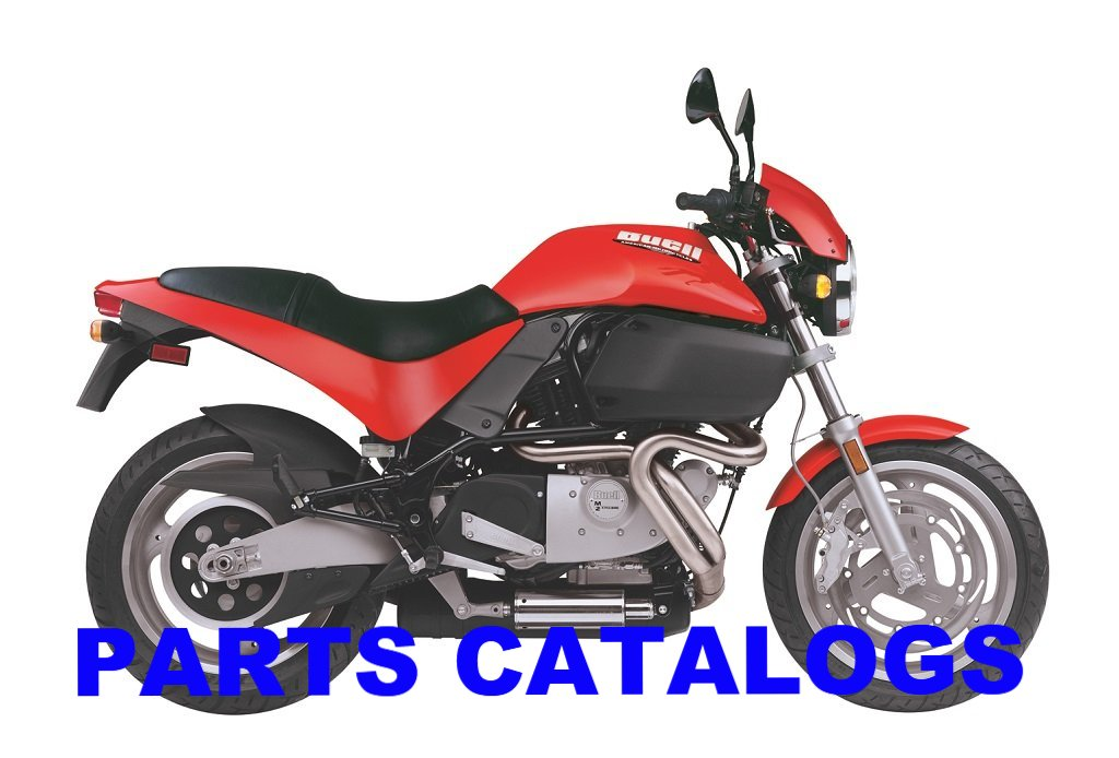 Genuine Buell 1997-2002 M2 Cyclone Parts Catalogs