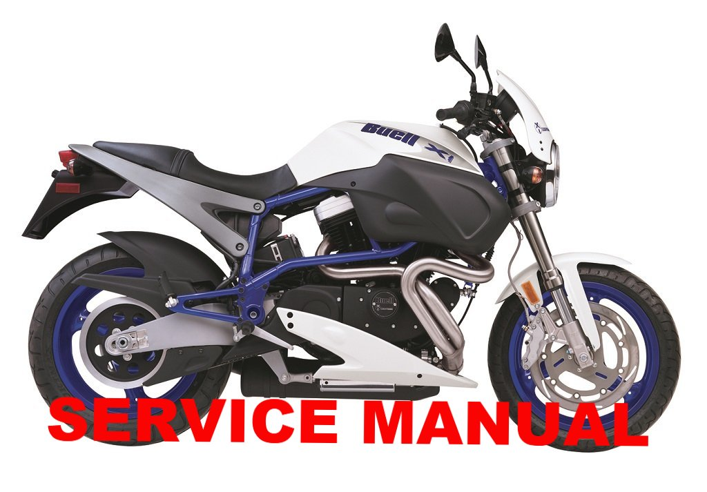 Genuine Buell 1999-2002 X1 Lightning Service Manuals