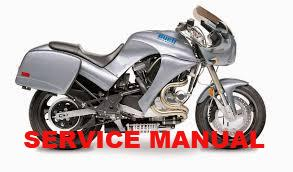 Genuine Buell 1995-1996 S2 Thunderbolt Service Manuals