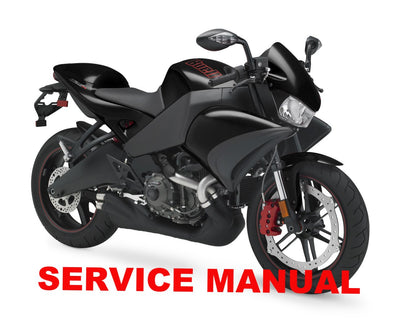 Genuine Buell 2008-2010 1125R & 1125CR Service Manuals