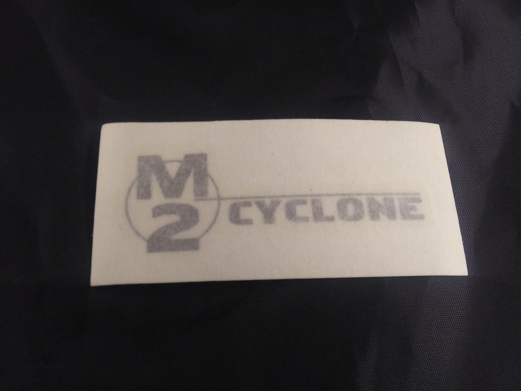 M0773.01A3 Genuine Buell M2 Tail Section Decal, 2000-2002 M2 Cyclone