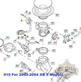 29539 99Y Genuine Buell Intake Seal All Efi Models 1999 2004 U10B Fuel Delivery