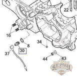 Buell Neutral Indicator Switch installation diagram