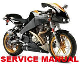 Genuine Buell 2003-2010 XB Firebolt Service Manuals