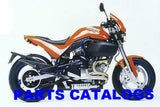 Genuine Buell 1997-1998 S1 Lightning Parts Catalogs