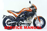 Genuine Buell 1996-1998 S1 Lightning Service Manuals