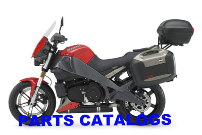 Genuine Buell 2006-2010 Ulysses Parts Catalogs