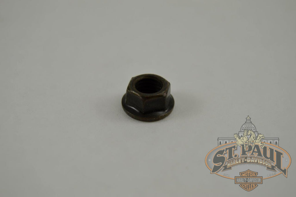 D0700 12Cbl Genuine Buell Black Chromate M7X1 0 Exhaust Header Nut L18B