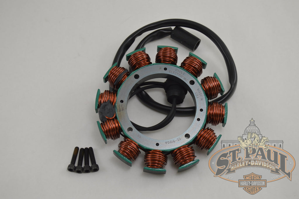 Ce 9100A Cycle Electric Inc 1995 2002 S1 S2 S3 X1 M2 Blast Single Phase Stator L3E6 Electrical