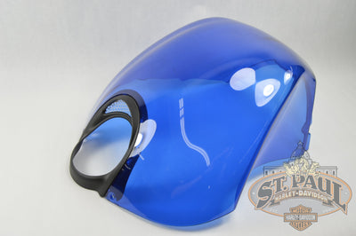 M1224 5Aembx Genuine Buell Hero Blue Intake Coverwith Decal 2003 2010 Xb 1125 Models U5C Body