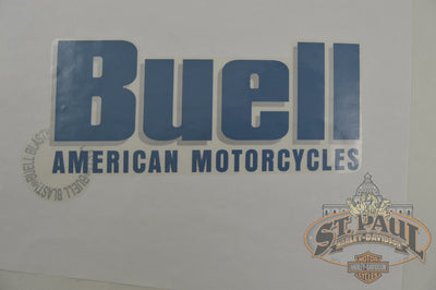 M0729 4A7 Genuine Buell Fuel Tank Right Decal 2000 2010 Blast P3 U10A Emblem