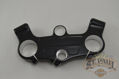J0105 3A8Yt Genuine Buell Designer Black Villain Upper Triple Tree Clamp 2009 2010 Xb12R L19A